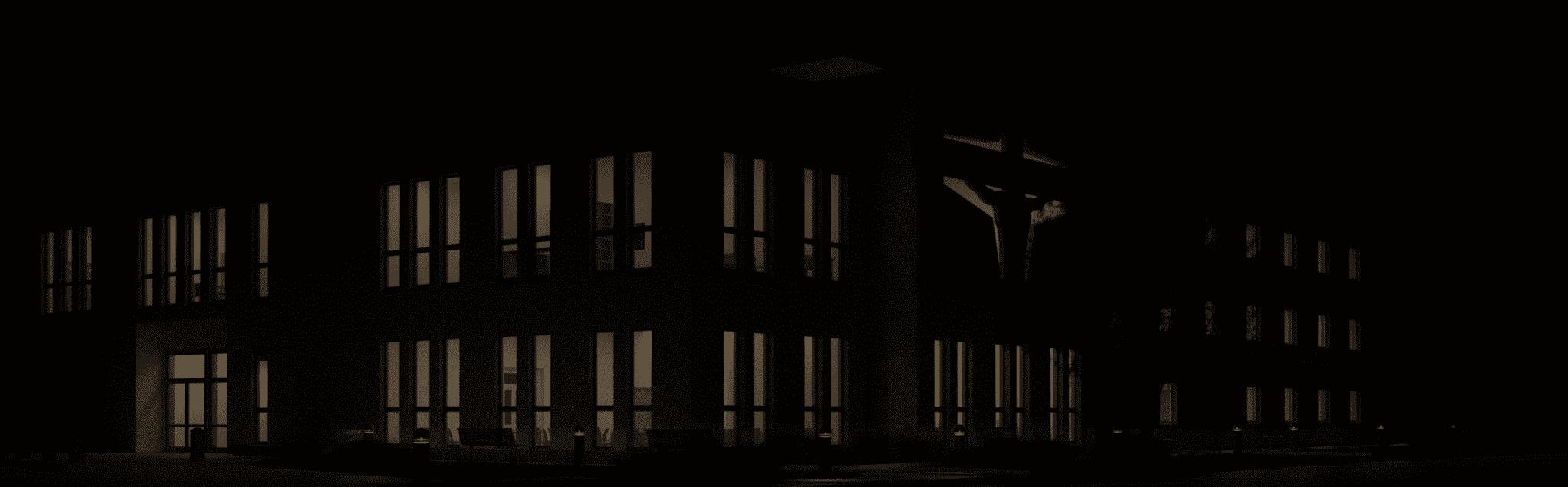 Widok 3D noc